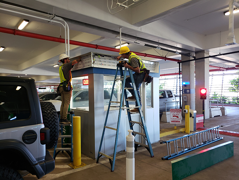 commercial Lighting electrician in Maui