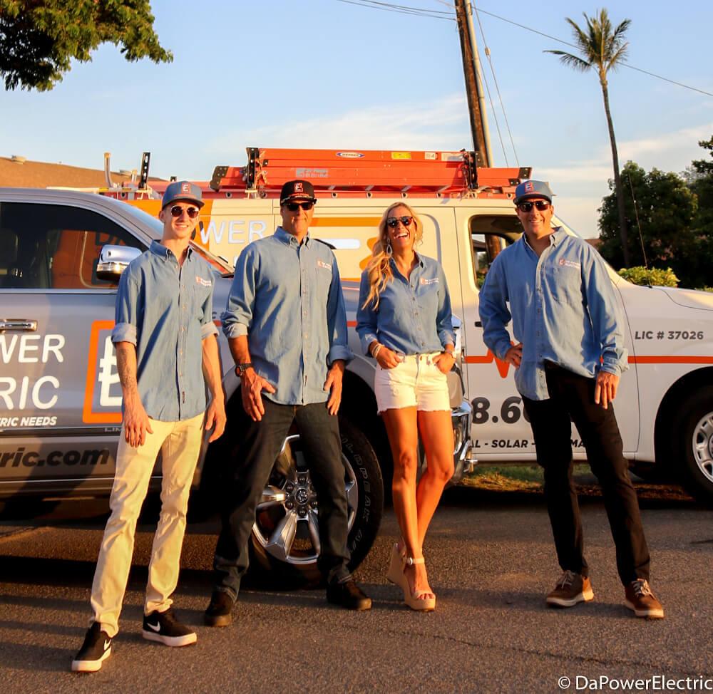 Team Da Power - Electrician Maui